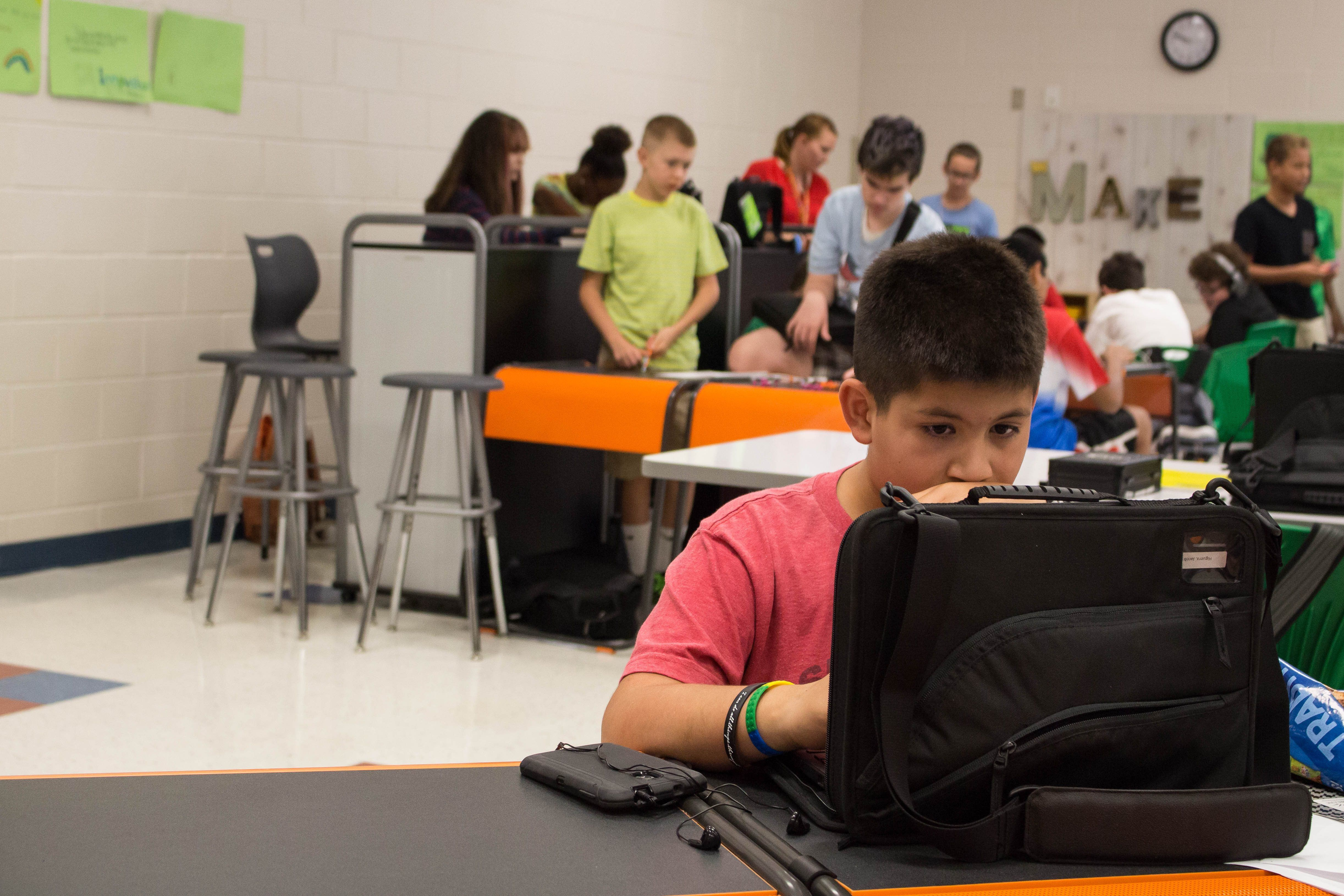 SURPRISE, Ariz  — The Innovation Academy workspace at Dysart