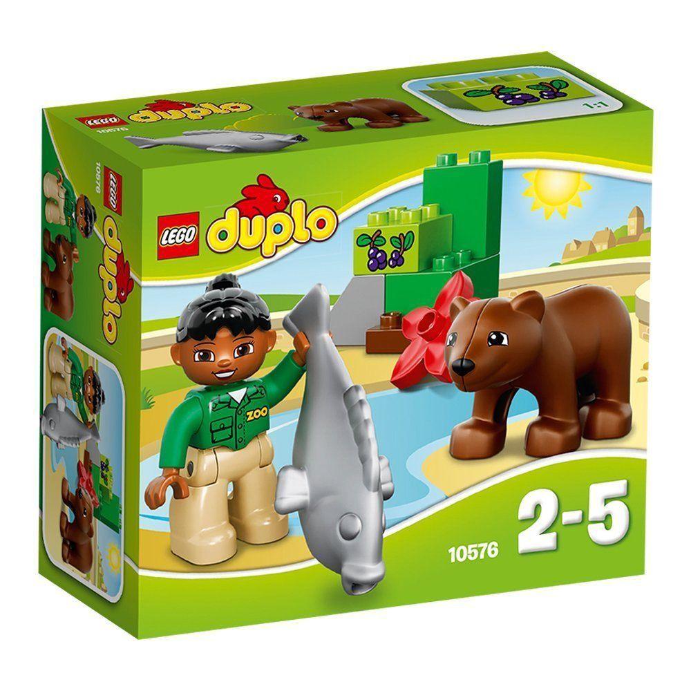 Lego Duplo 10576 Zoo Care Set New Sealed 9pcs Ages 2 Great For Boys Girls Lego Duplo Lego Lego Animals
