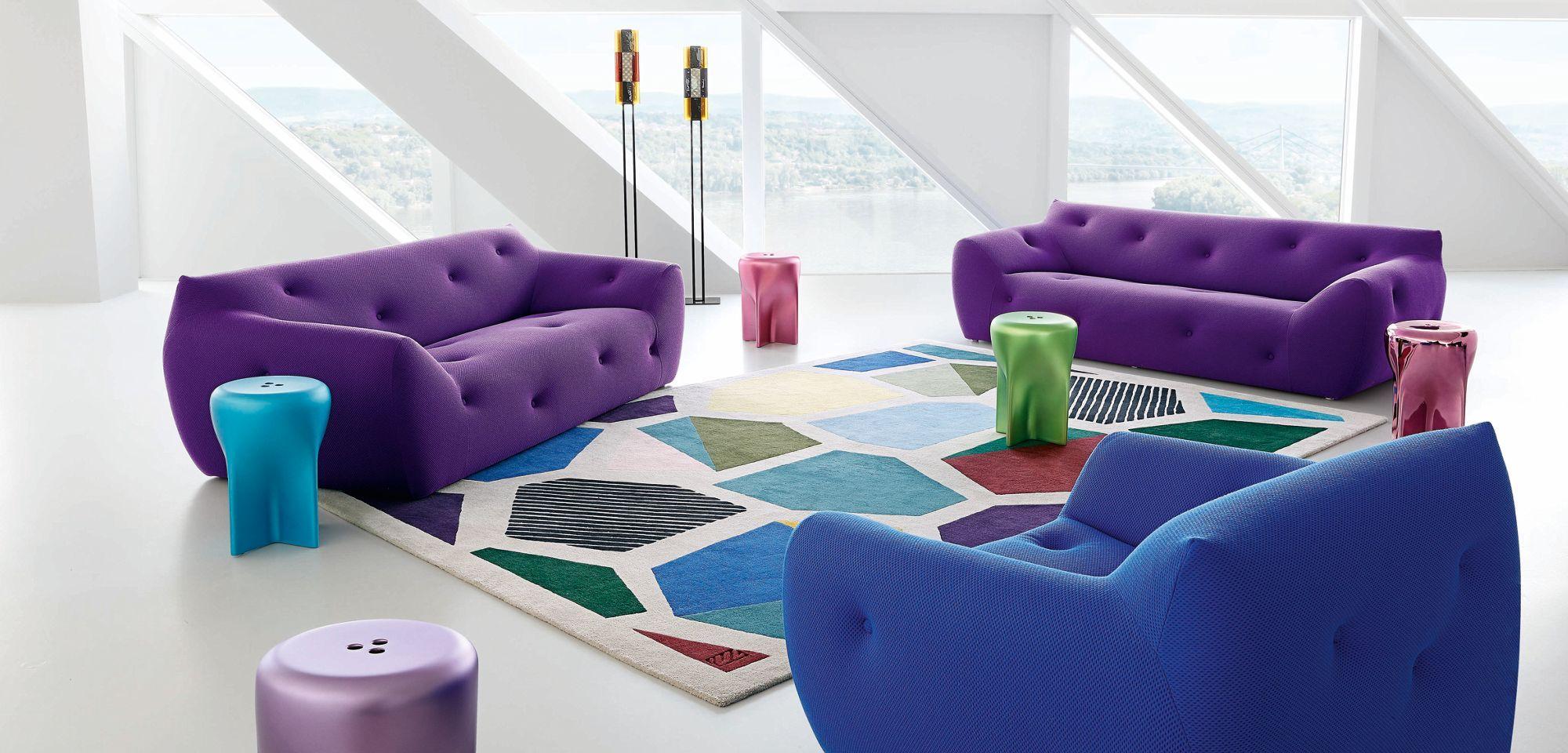 Informel Large 3 Seat Sofa Fabric Sofa Design Fabric Sofa Types Of Sofas