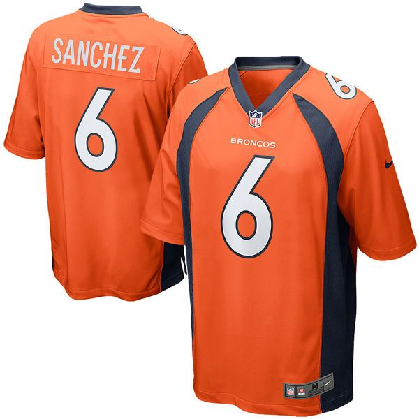 Mark Sanchez Denver Broncos Nike Game Jersey - Orange - $78.99 ...