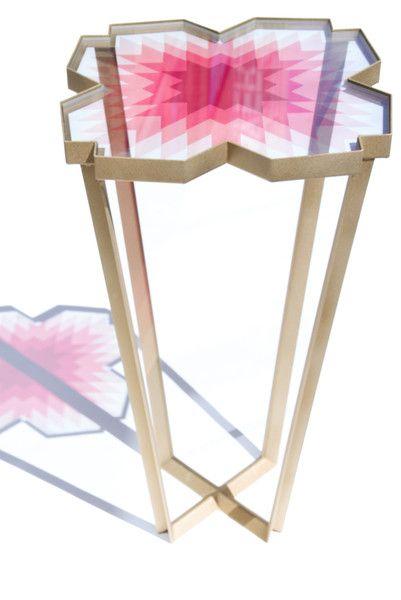 ECHO SIDE TABLE by Debra Folz