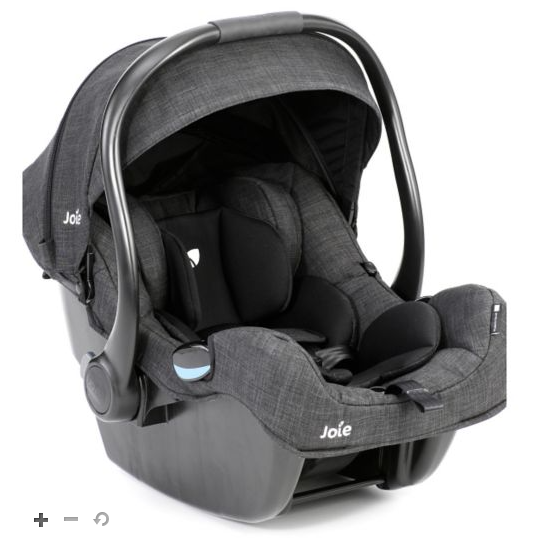 Joie IGemm Group 0+ Car Seat in Pavement colour. Click on
