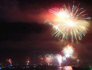 Fireworks and parade information for the 2012 July 4th celebration in Concord, California
