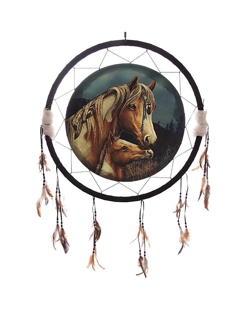 Lisa Parker New and Sealed 16 cmHorse Dream Catcher