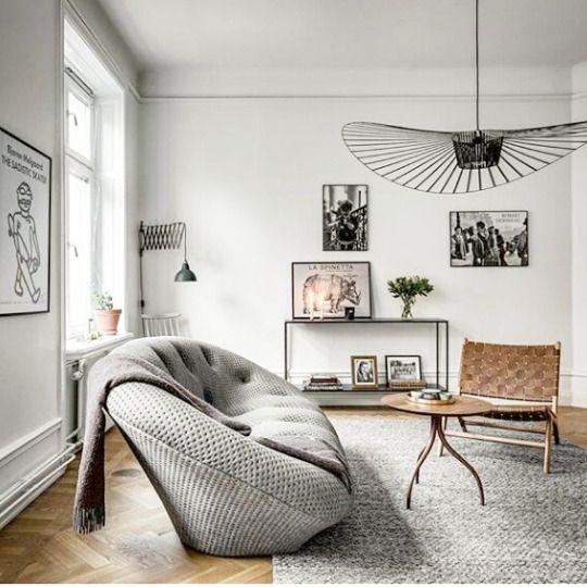 Flash en 2019 d coration appartement canap ploum canap ligne roset et meuble maison - Suspension contemporaine salon ...