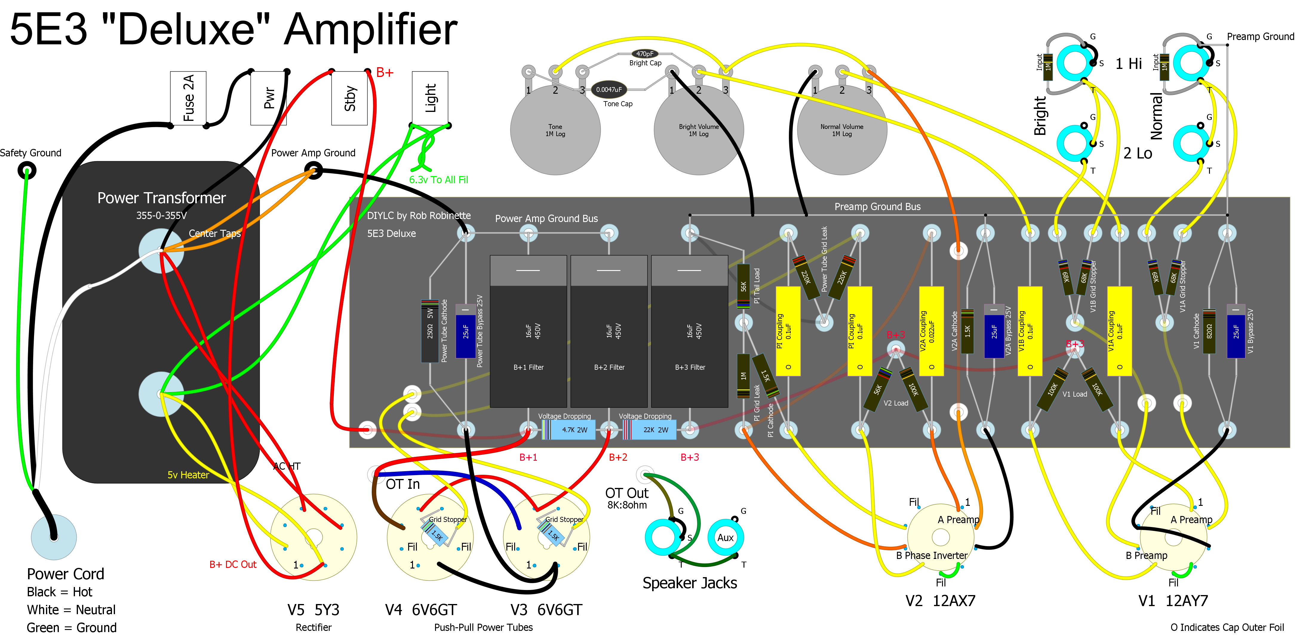 How Amps Work Circuits Amp Guitar Music Related Schematics Also See Audio Diy Electronics Projects Electronic Amplifier Speakers