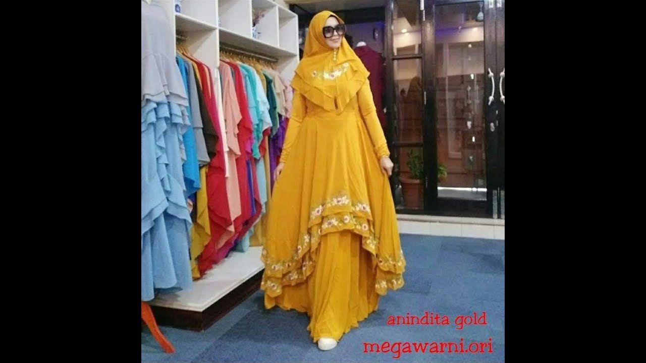 10 Model Baju Syari 10 10 Cantik - Gamis Lebaran Idul Adha 10