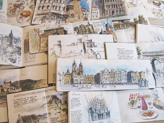 Calling All Travel Sketchers Travel Sketchbook Watercolor