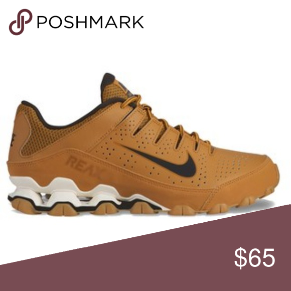official photos b5266 a244f Nike Reax Peanut Butter New condition Nike Shoes Athletic ...