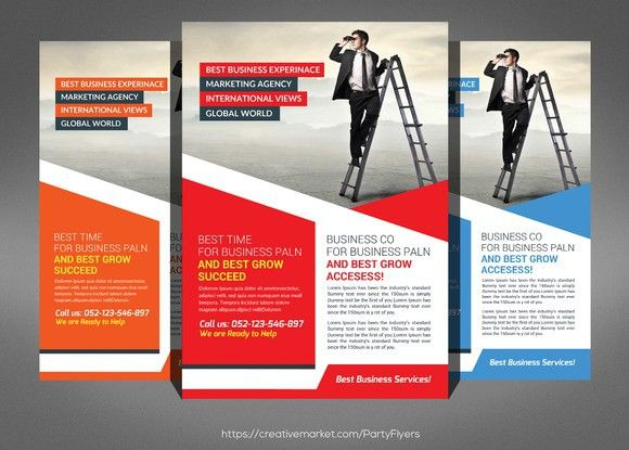 Staffing \ Recruitment Agency Flyer Flyer Templates $600 - Gym Brochure Templates