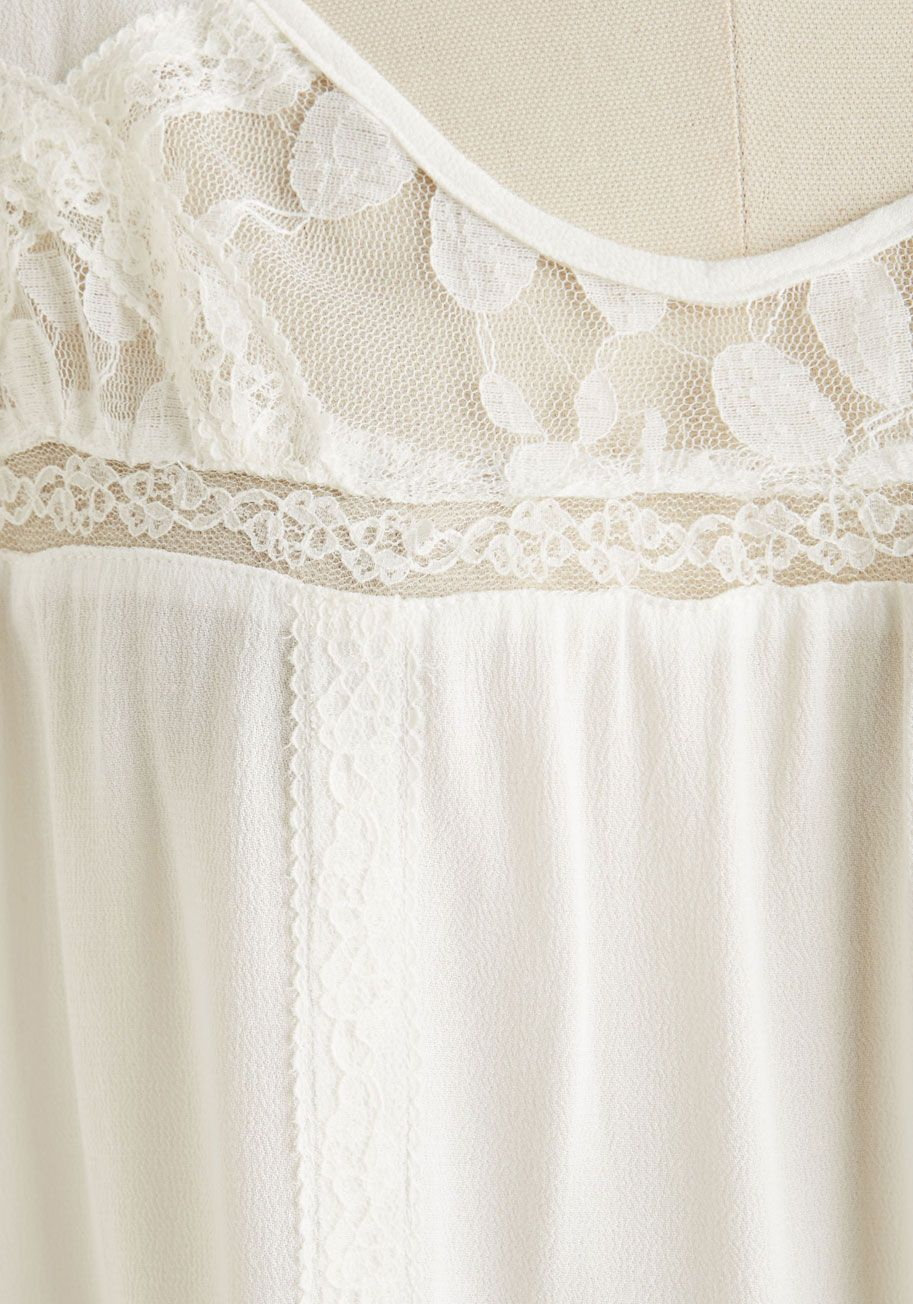 5abde84059f Lacy for You Top. Revel in all the loveliness that life has to offer in  this darling ivory top!  white  modcloth