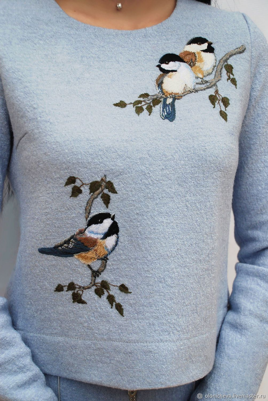 371f9e2c047 Костюмы ручной работы. Теплый вышитый костюм  Птички-синички . KVITKA (Ирина
