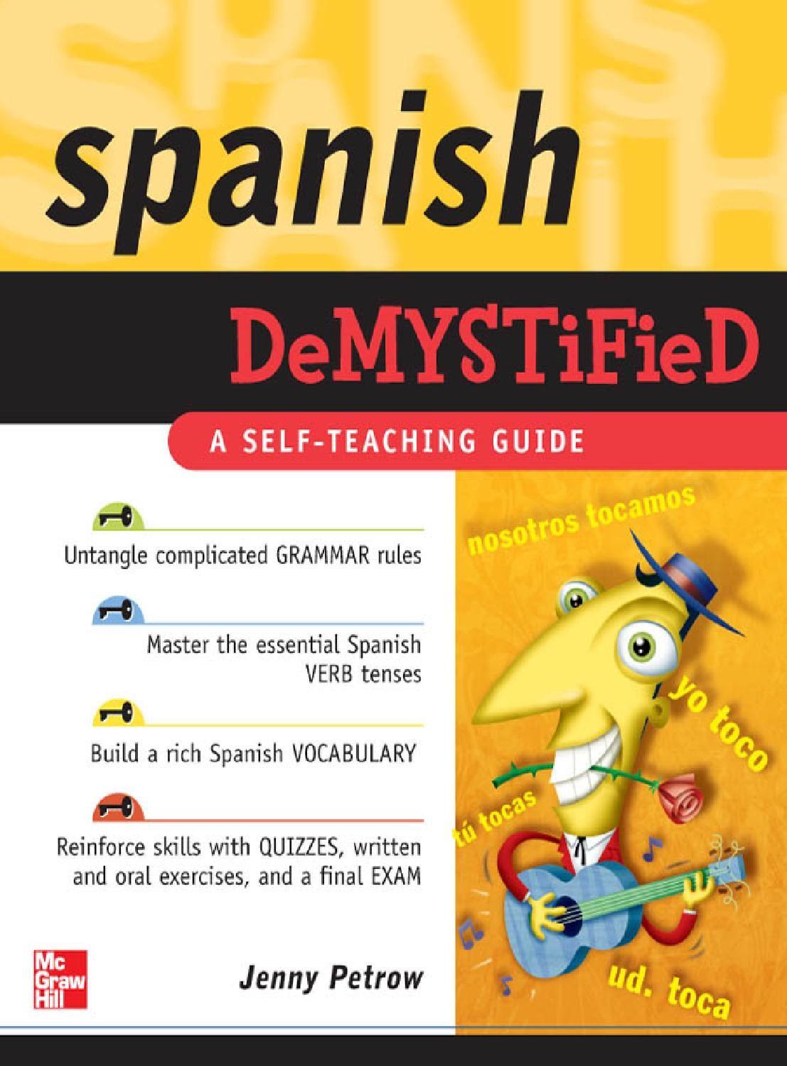 Spanish Demystified By Jenny Petrow