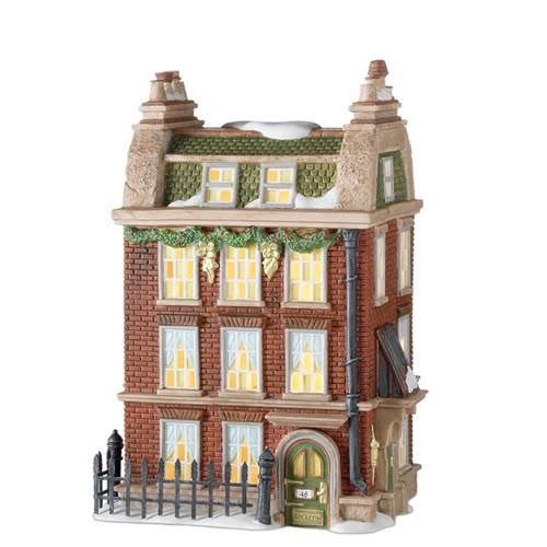 Department 56 Dickens' Village Series 48 Doughty St. Home to Charles Dickens #805521