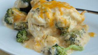 Kuracie stehná s brokolicou