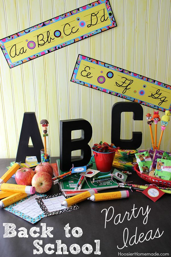 Celebrate With These Back To School Party Ideas No Need To Throw A