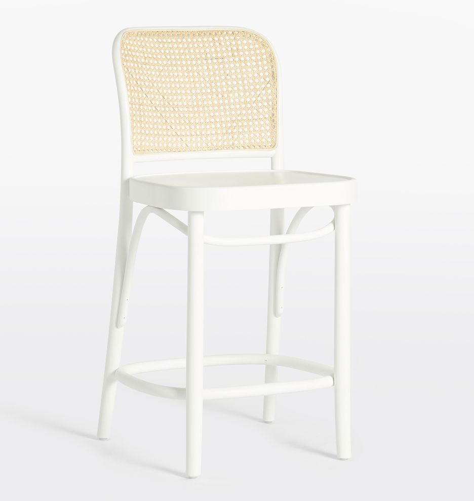 Ton 811 Caned Counter Stool Counter Stools White Counter Stools