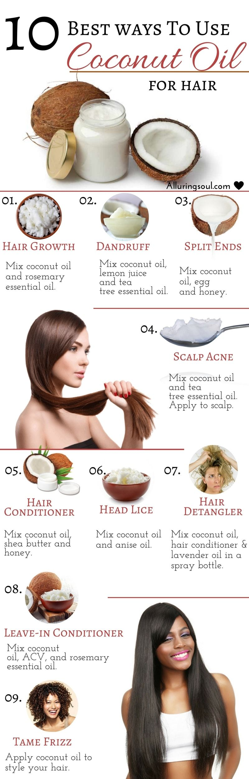 how to make coconut oil for hair growth