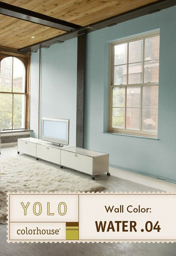 Gentil Interior Paint Colors | YOLO Colorhouse Eggshell Interior Paint, Water .04,  Gallon