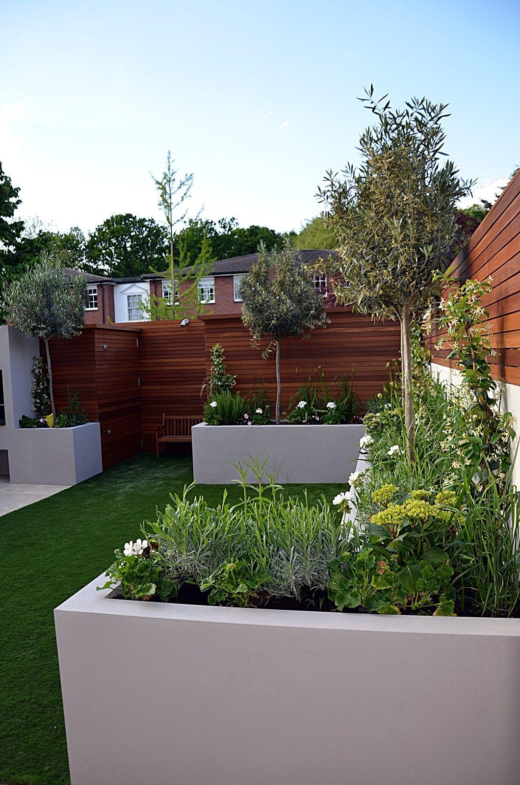 Modern garden house  modern garden designer streatham balham clapham london  Small