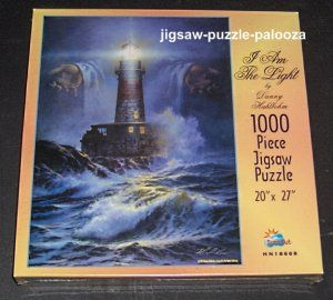 1000 Piece Jigsaw Puzzle I Am the Light SunsOut SEALED HN18668 $7.50