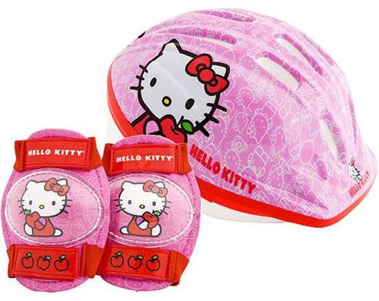 Hello Kitty Bike Helmet And Pads Hello Kitty Bike Accessories