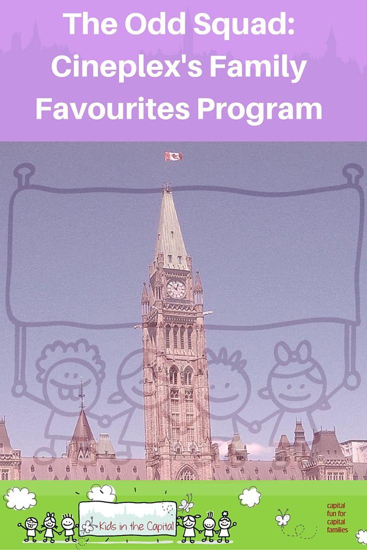 The Odd Squad: Cineplex's Family Favourites Program | Kids in the Capital | Family Movies | TVO Kids |