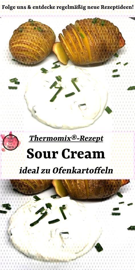 Sour Cream – ideal zu Ofenkartoffeln | Thermomix®-Rezept - dips -