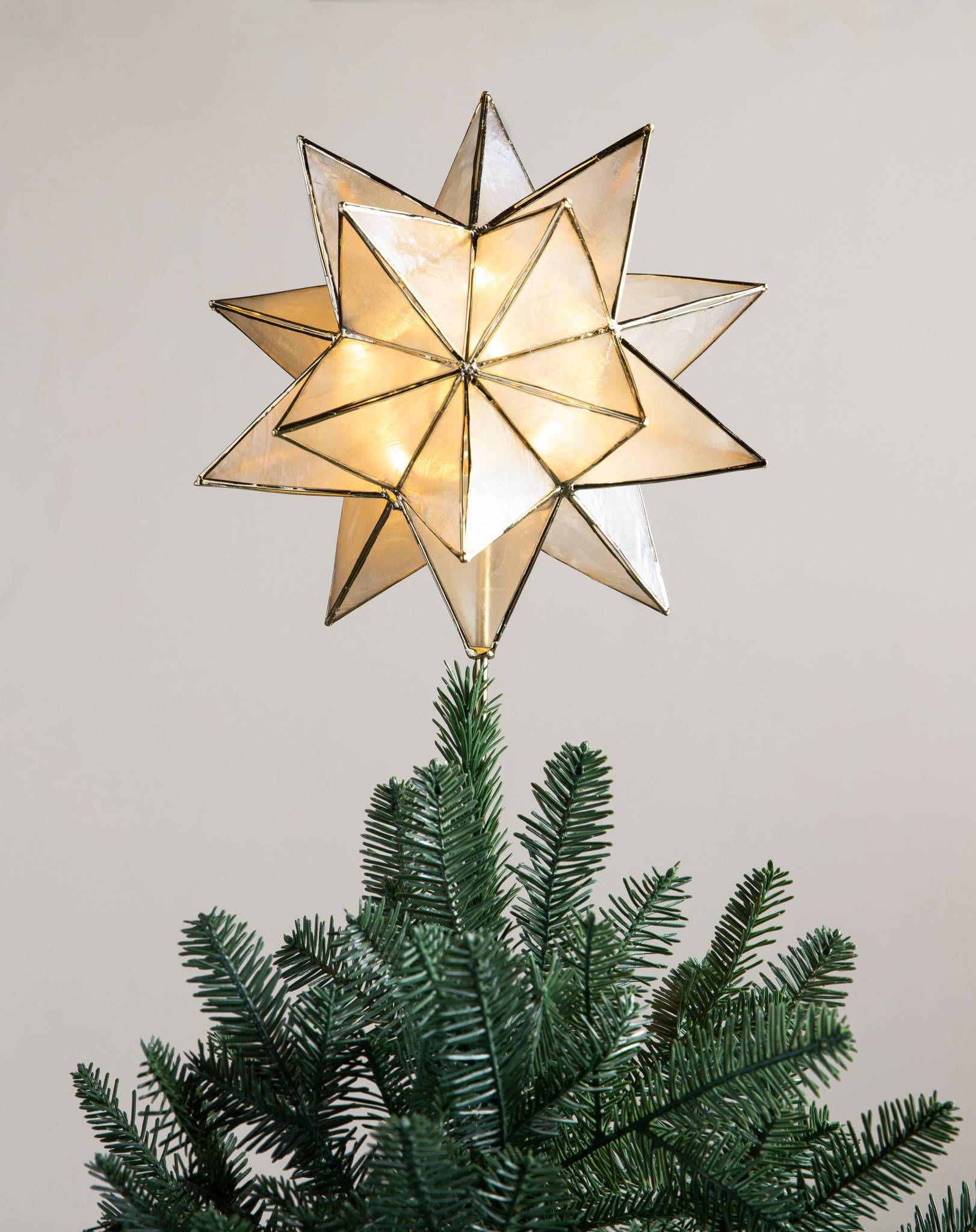 Rose Gold Beaded Tree Topper Balsam Hill Rose Gold Christmas Tree Christmas Tree Toppers Tree Toppers