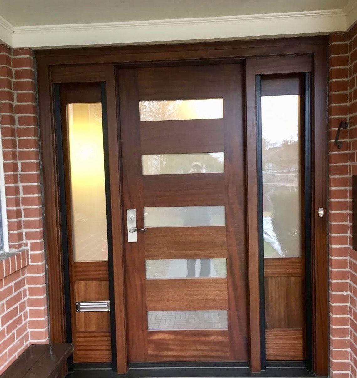 Amberwood Doors Inc: *Contemporary* Sleek & Modern #AmberwoodDoors #mahogany