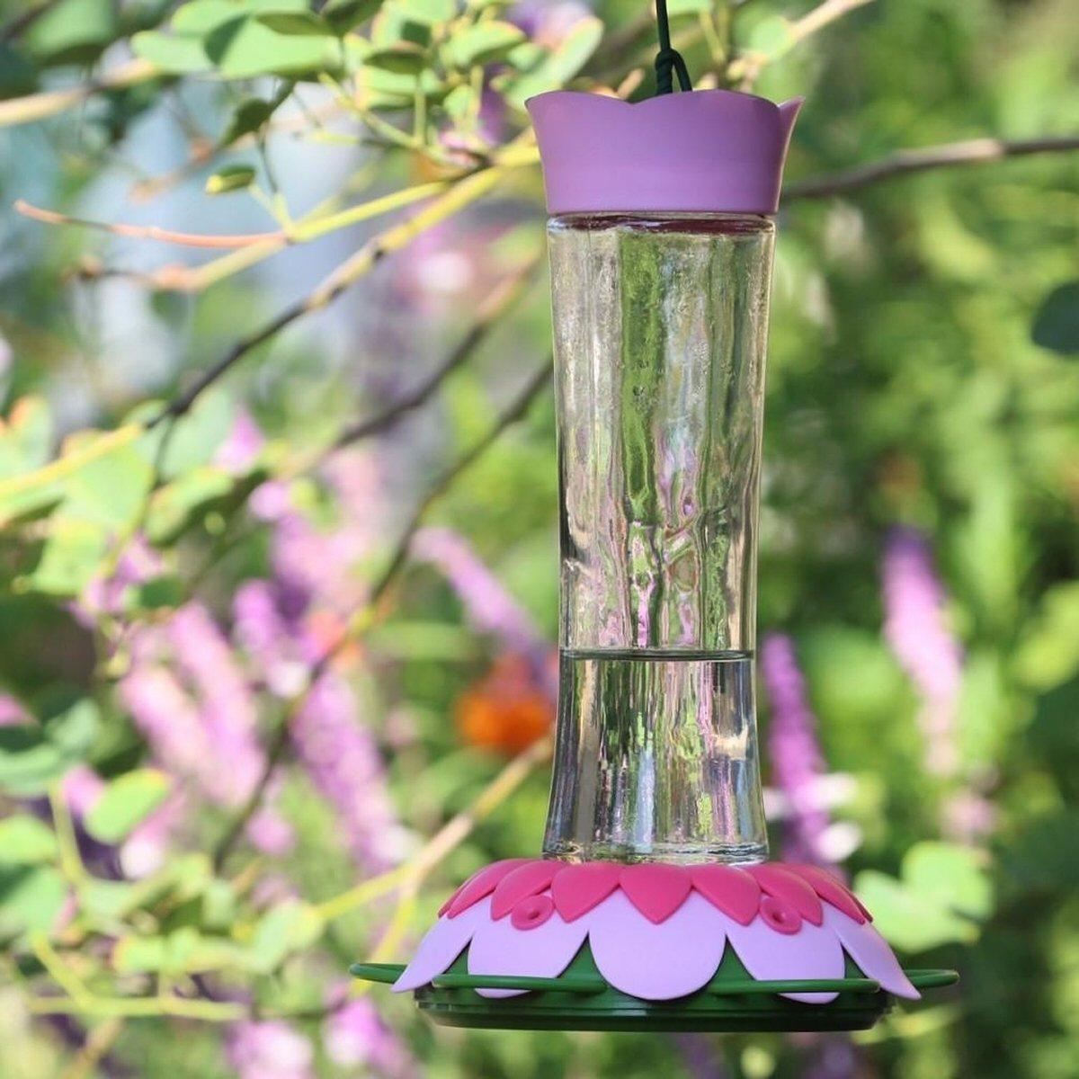 So Real Purple Hummingbird Feeder Humming bird feeders