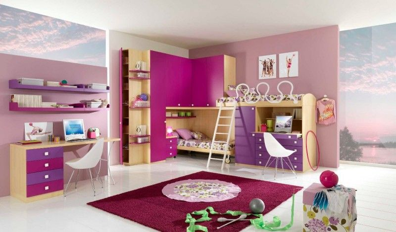 Image Detail For  Double Loft Beds For Girls Bedroom Design Ideas Pinky Double  Loft Beds