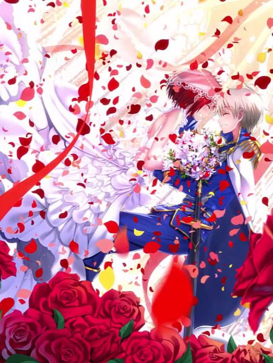 Akagami No Shirayukihime Zen And Shirayuki They Need To Get Married Akagami No Shirayuki Snow White With The Red Hair Anime