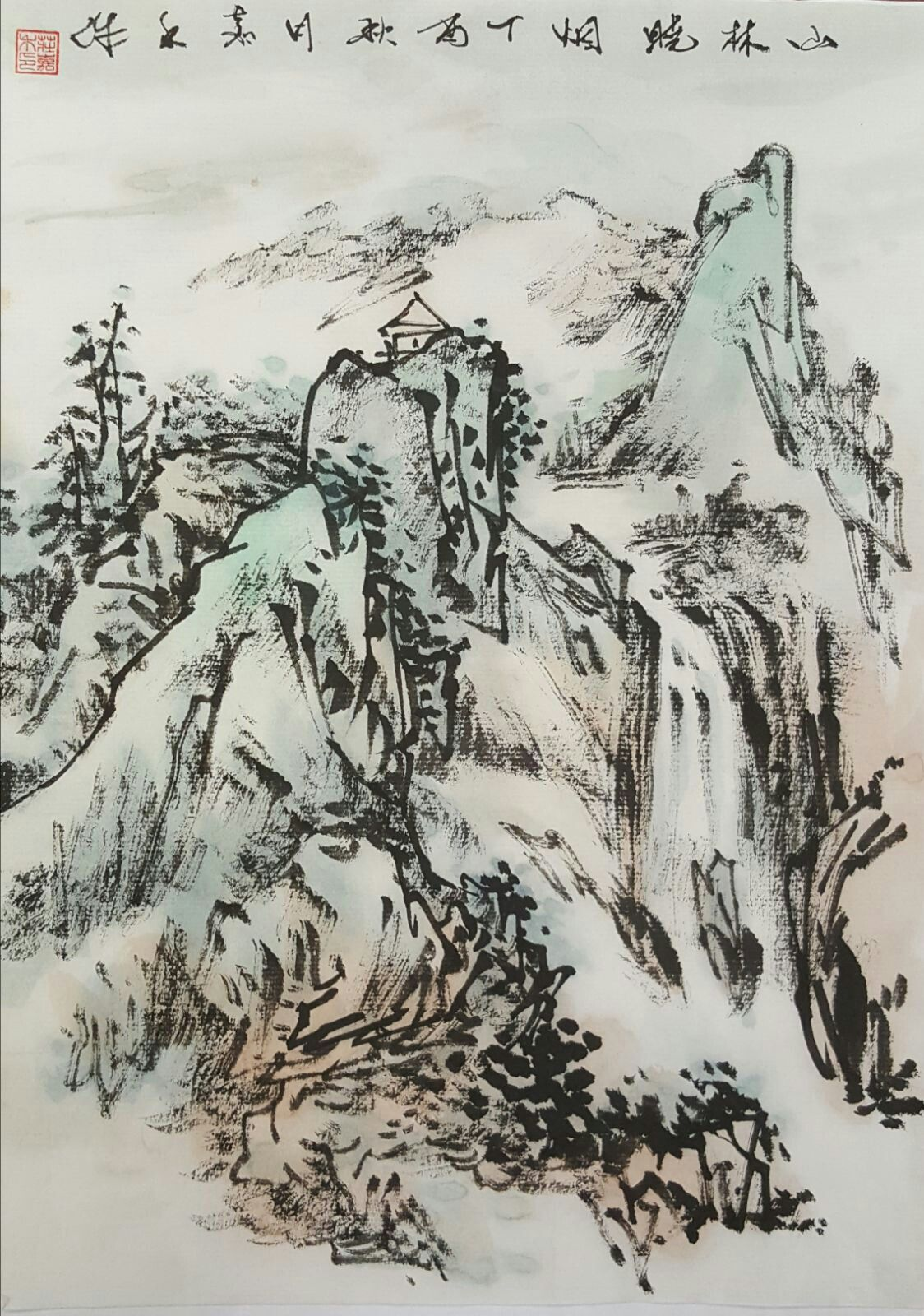 Pin By Alexandra Mo On Chinese Painting Landscape Paintings
