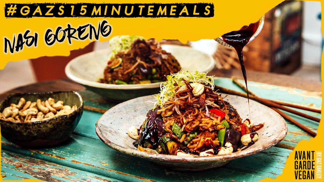 Incredible Vegan Nasi Goreng Gazs15minutemeals Must See Important Video Youtube With Images Nasi Goreng Recipe Nasi Goreng Gourmet Vegan