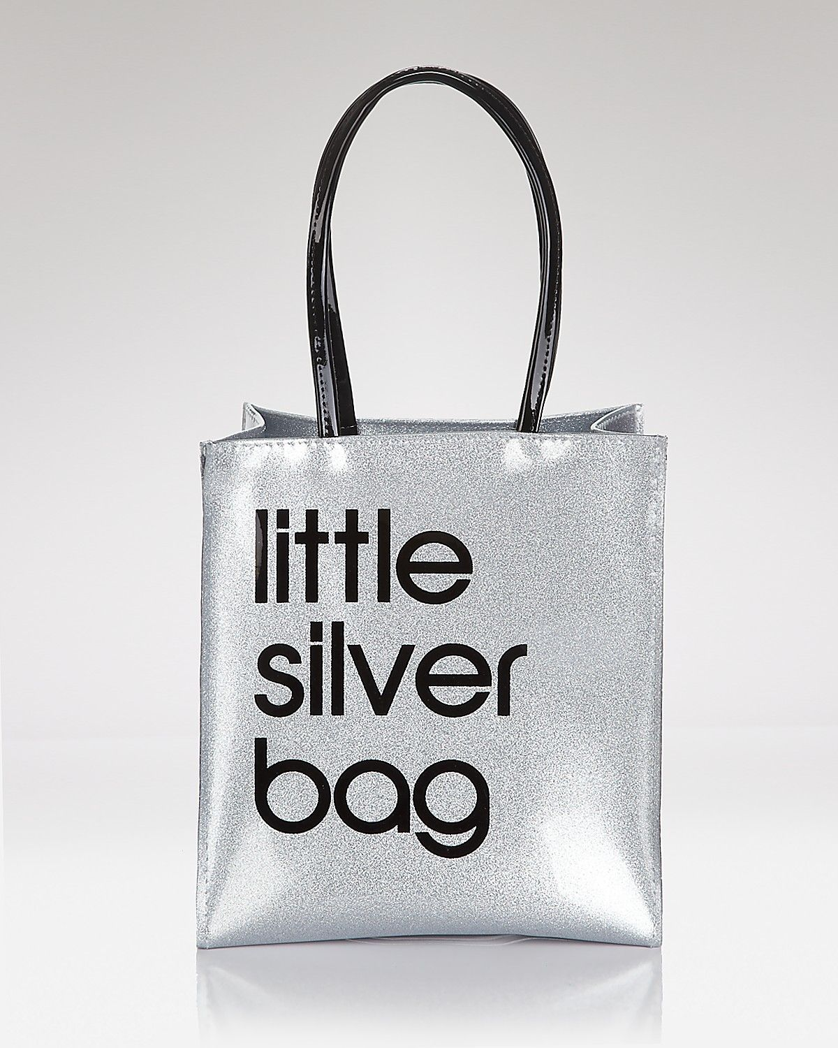 ddc40ecee89a Silver Sexy §    Silver Mini Tote - Little Silver Bag From Bloomingdale s