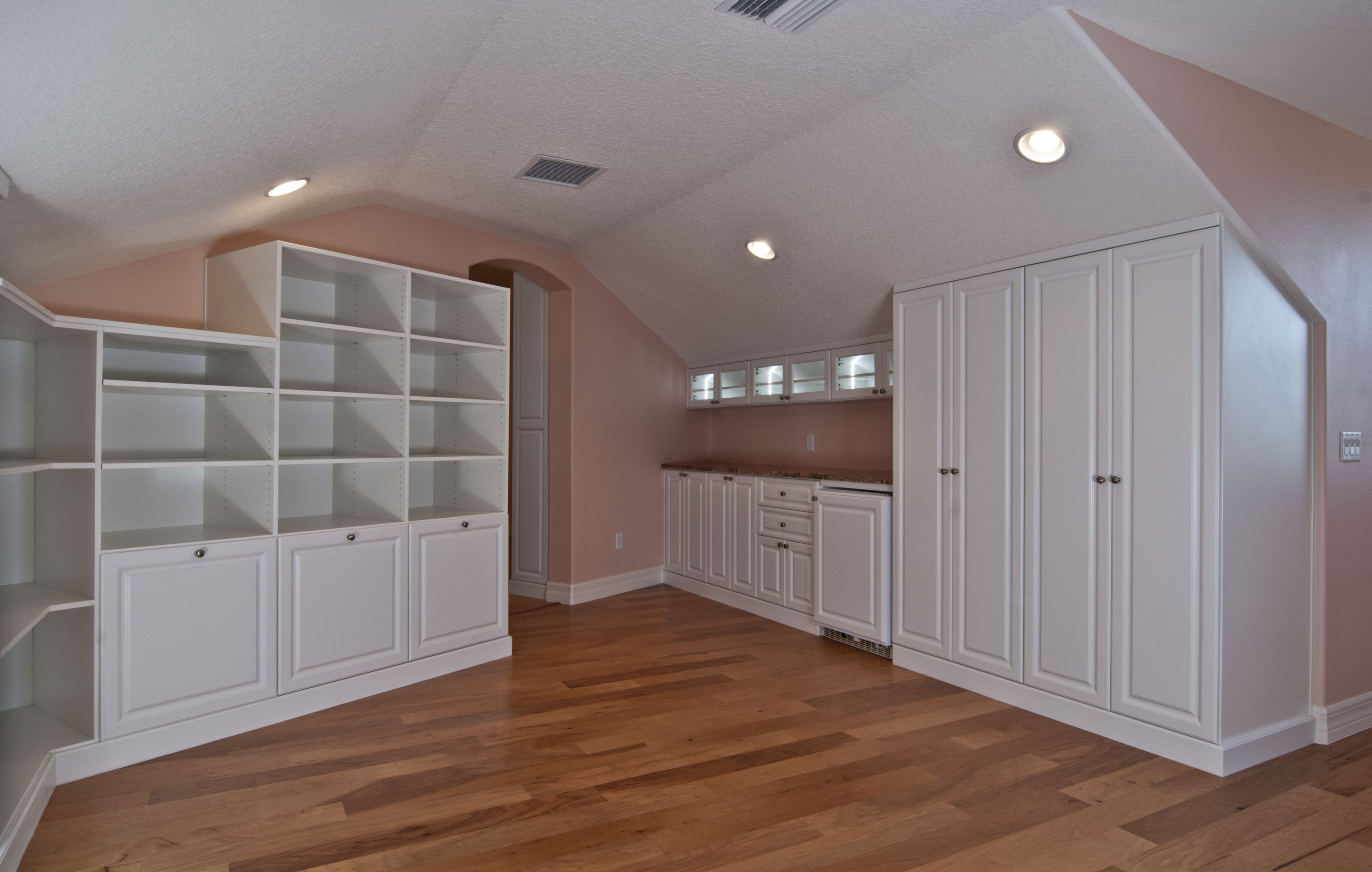 Best Master Closet White Inside Finished Attic With Angled 640 x 480
