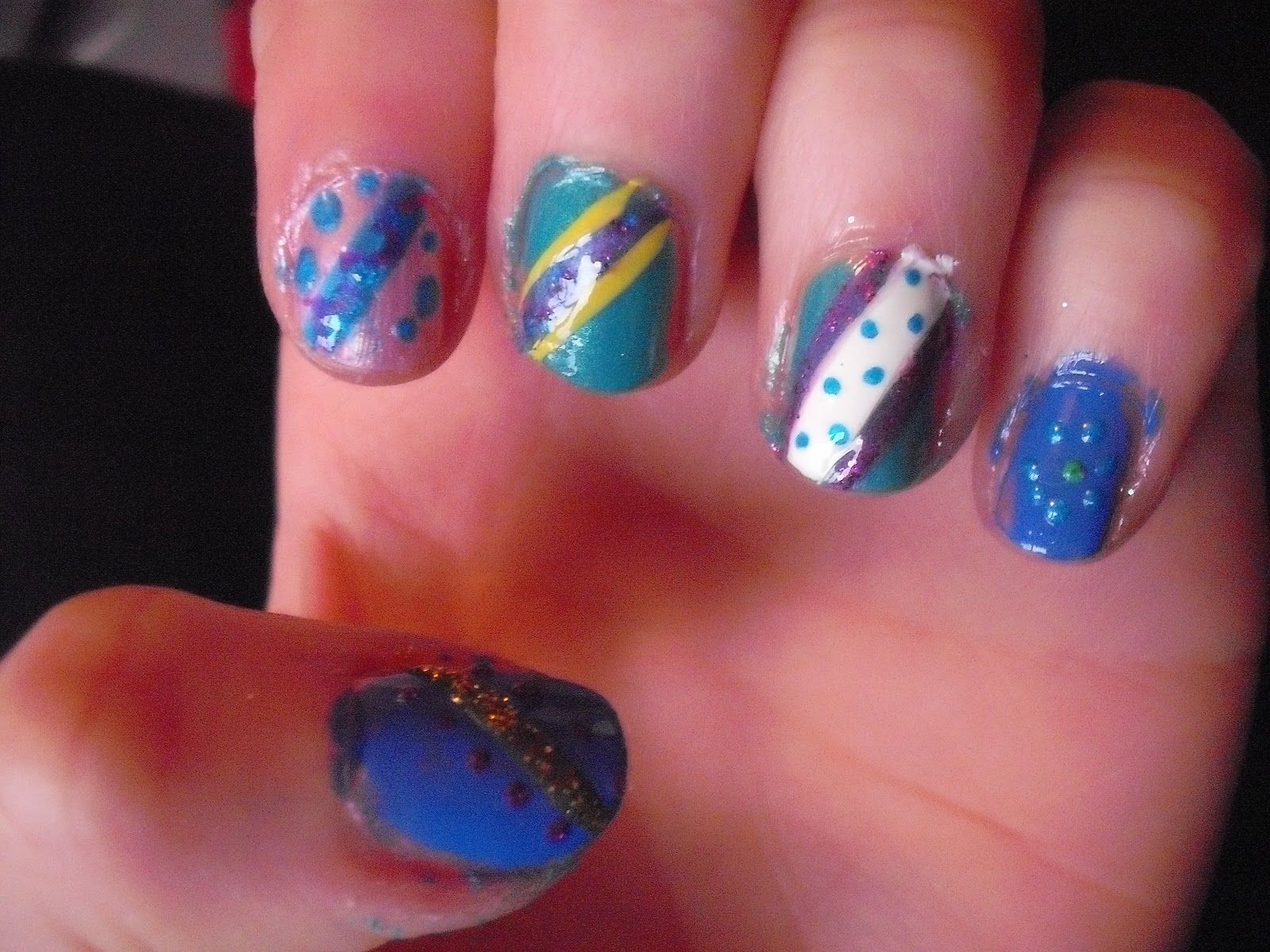 nail art candy design | Nail Art Ideas | 2015 Nail Art Idea ...