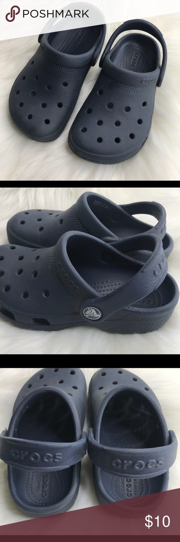 Kids Navy Crocs size 11. GUC | Crocs