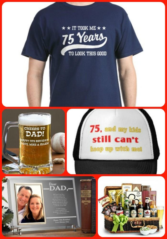 75th Birthday Gifts For Dad