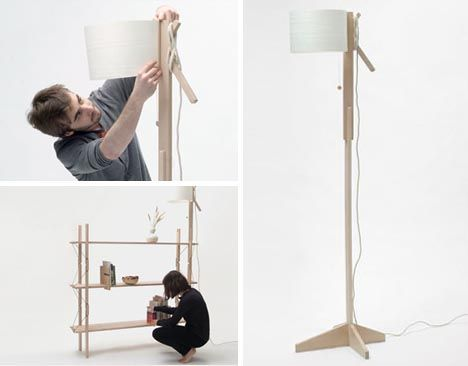 A variant on the core project there as an lamp set as well that do it yourself craft projects sometimes end in disaster with this curious wood construction set however you can always start afresh every modular wood solutioingenieria Image collections