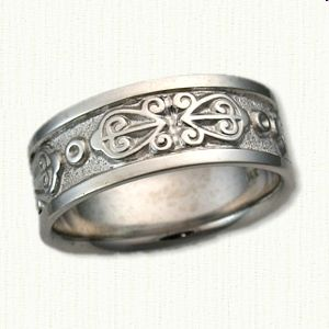 my s irish give women titanium item love rc wedding in ring claddagh from symbol of rings heart jewelry wholesale steel traditional