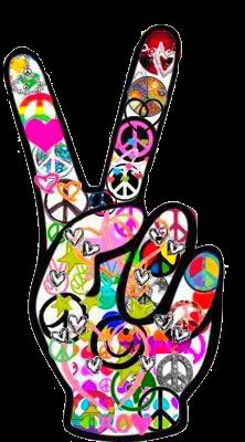 Paz Y Amor Paz E Amor Simbolo Da Paz Movimento Hippie