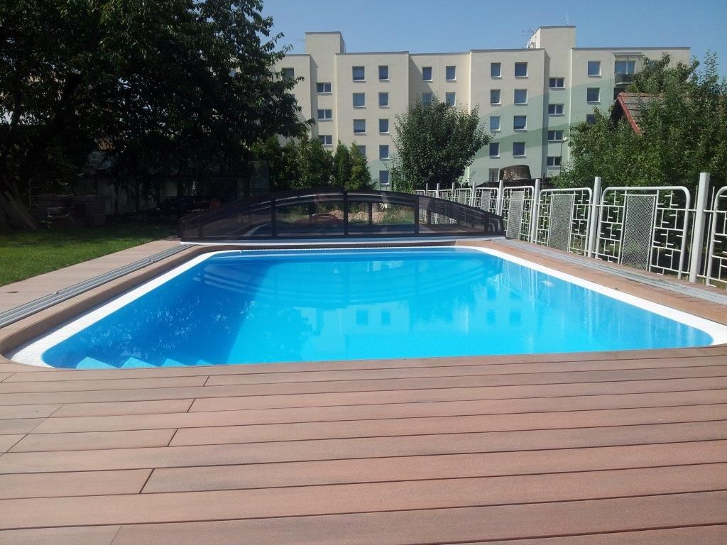Prelivový bazén ALBISTONE - obdlznik