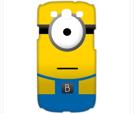 Despicable Me Minion - 3D Painting Samsung Galaxy S3 Case. $18.00, via Etsy.