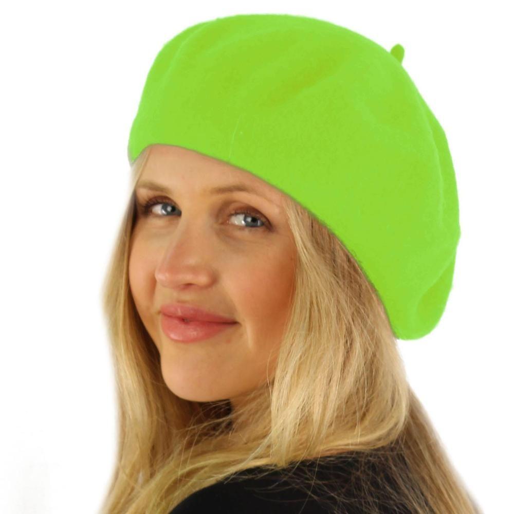 da618de98 Classic Winter 100% Wool Warm French Art Basque Beret Tam Beanie Hat ...