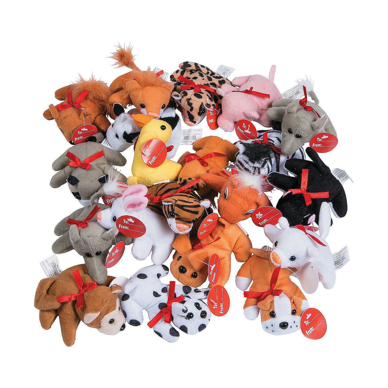 Exchange Mini Stuffed Animal Assortment Oriental Trading