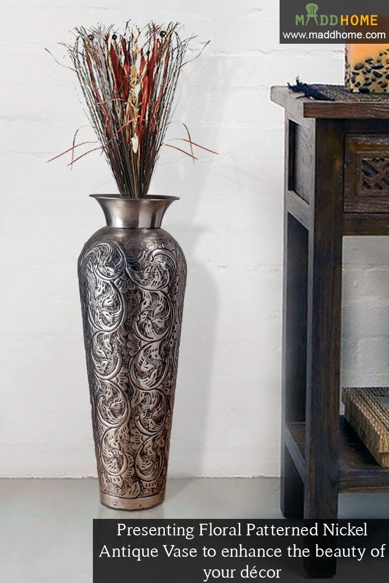 Crafted from an artist's eye! #MaddHome #HomeDecor #DecorativeVases on zinc car, zinc patina, zinc dog, zinc basket, zinc metal, zinc chest, zinc desk, zinc table,