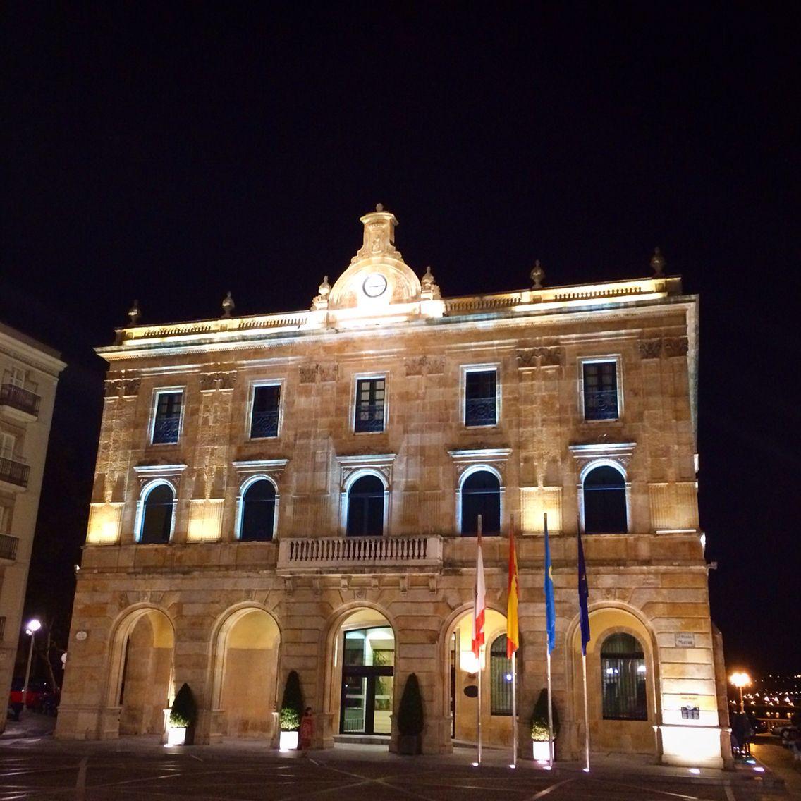 Casa consistorial. Gijón.