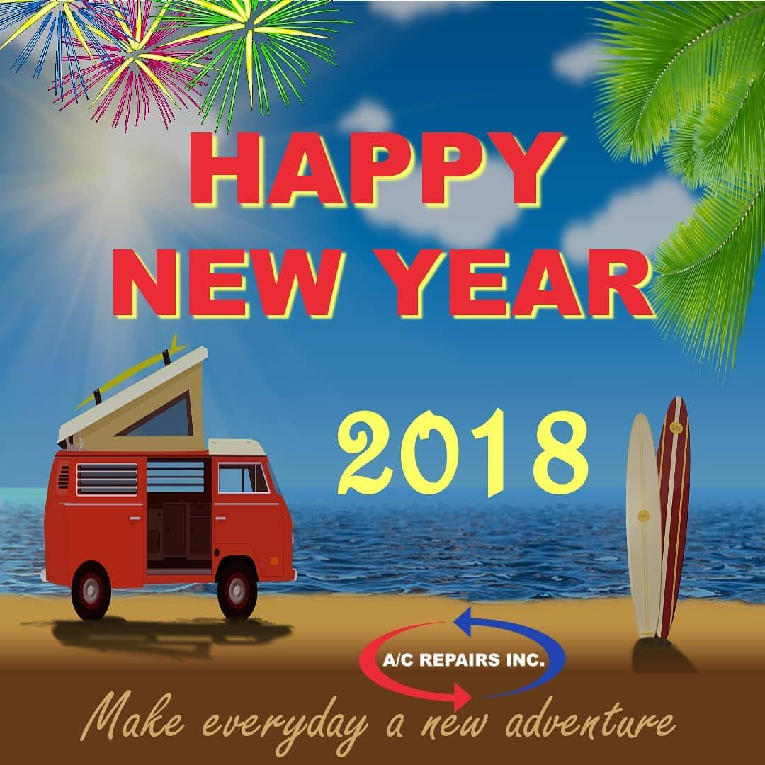 HAPPY NEW YEAR 2018 .. Let the adventure begin Happy new